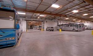 Indoor RV Storage
