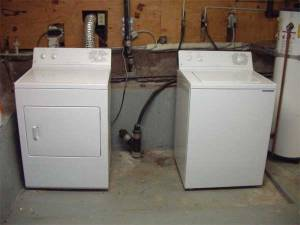 Preparing a Washing Machine for Moving or Storage